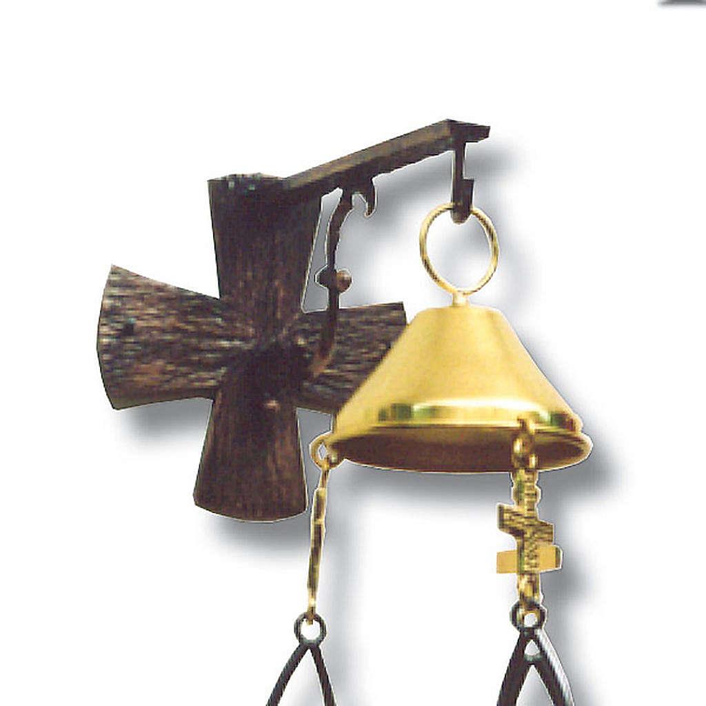 Lampada per Santissimo da appendere h. 100 cm 3