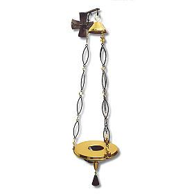 Lampada per Santissimo da appendere h. 100 cm s1