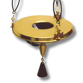 Lampada per Santissimo da appendere h. 100 cm s3
