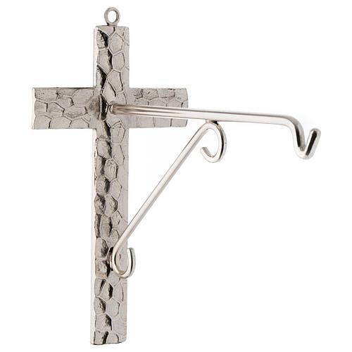 Lampada per Santissimo da appendere bronzo h. 75 cm 5