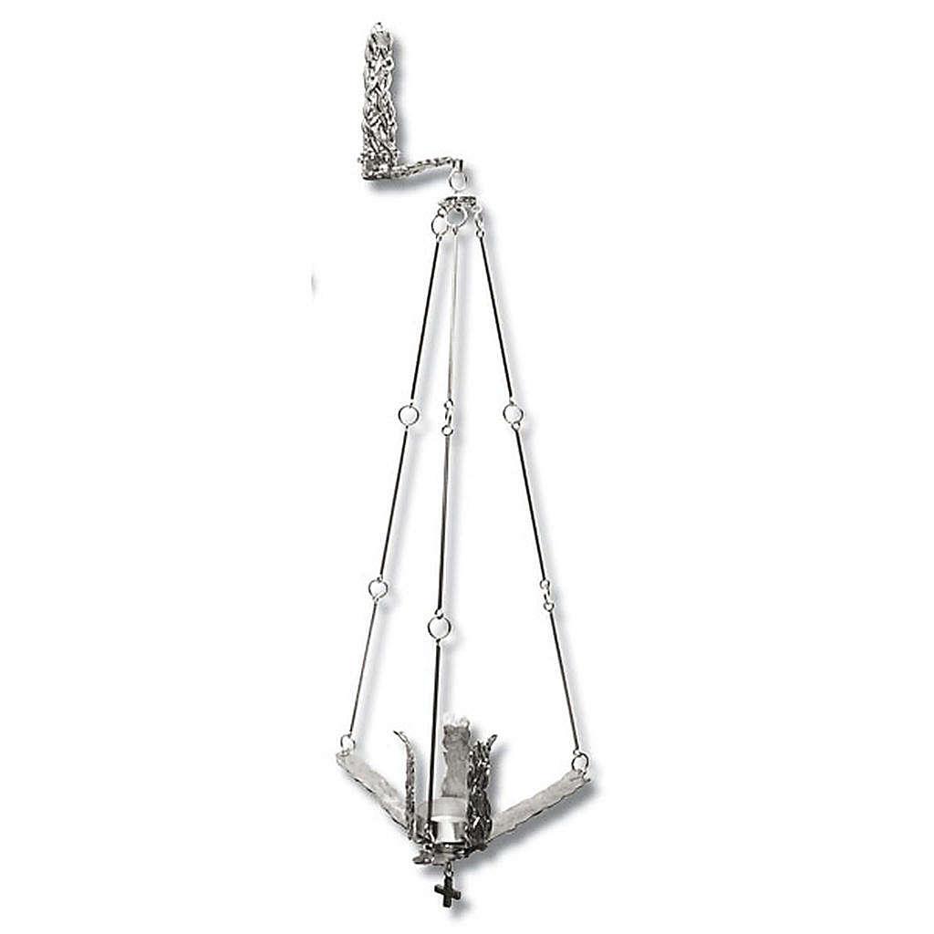 Lámpara para Satísimo de colgar 90cm plateado 3
