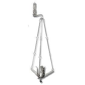 Lámpara para Satísimo de colgar 90cm plateado s1