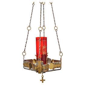 Lámpara para el Santísimo de colgar 80 cm alto s6