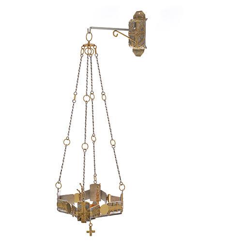 Lampada per Santissimo da appendere h.80 cm 1