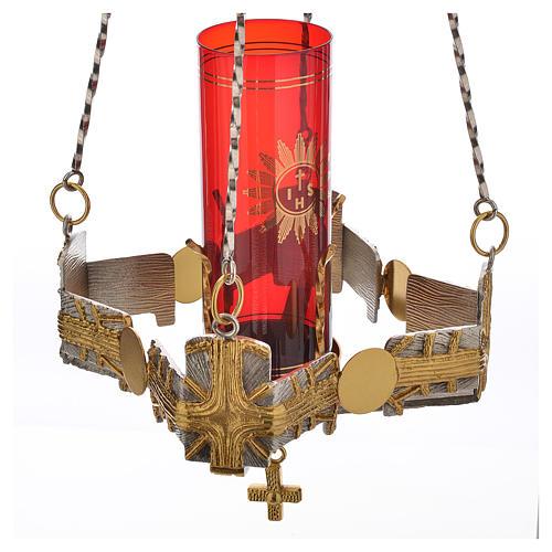 Lampada per Santissimo da appendere h.80 cm 5