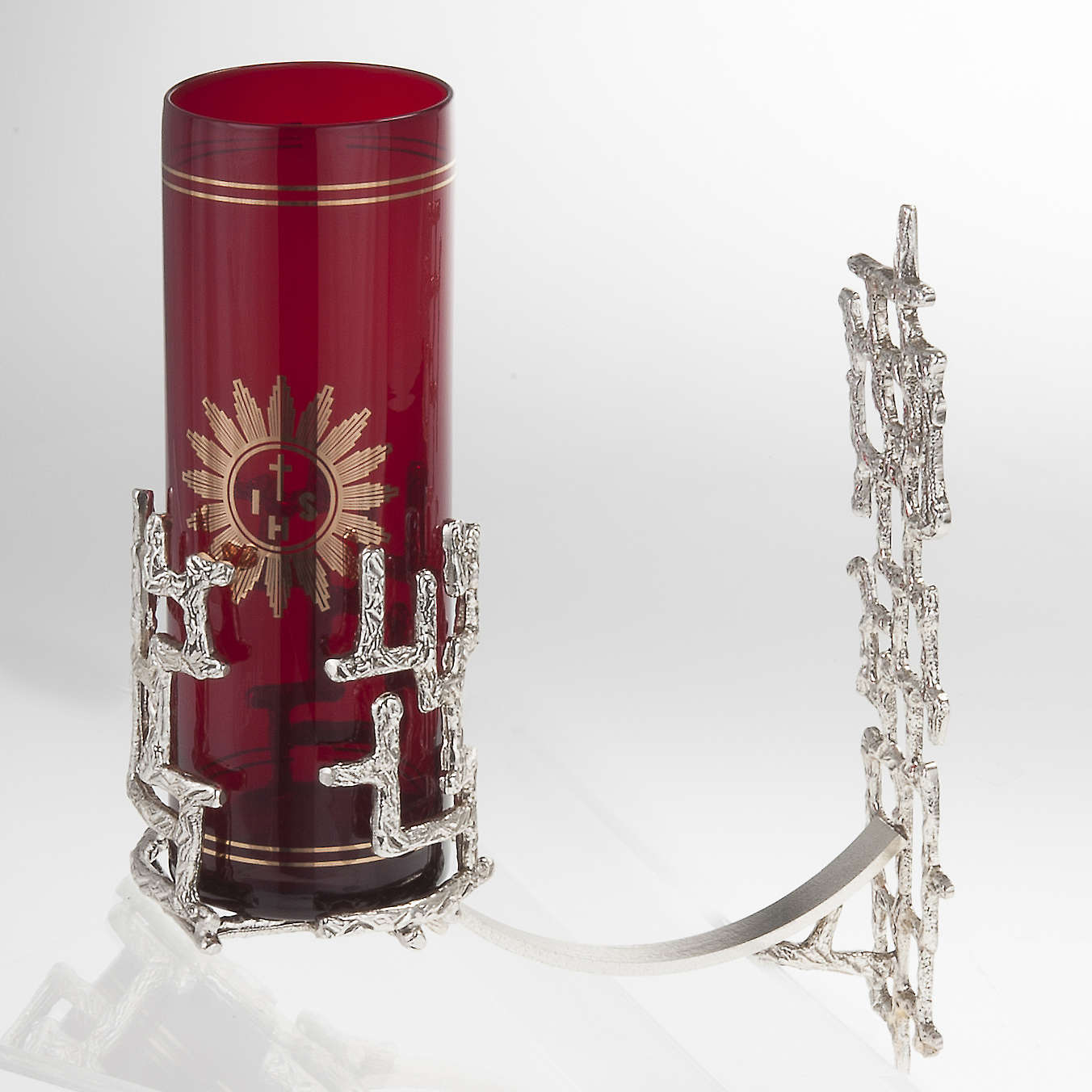 Lámpara para el Santísimo de pared moderna bronce 3