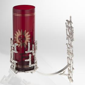 Lámpara para el Santísimo de pared moderna bronce s3