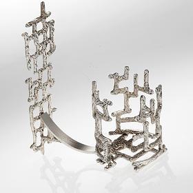 Lamparinas Santíssimo: Lamparina Santíssimo de pendurar moderna bronze prateado