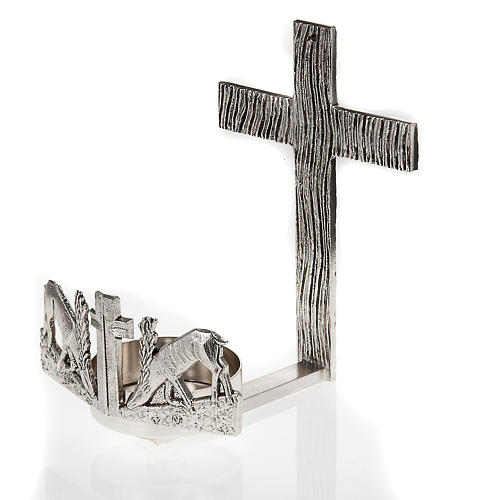 Blessed Sacrament wall lamp with deer at the spring 1