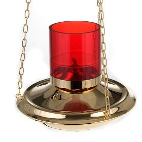 Lampe du Sanctuaire suspendue chaînes 1 mt s2