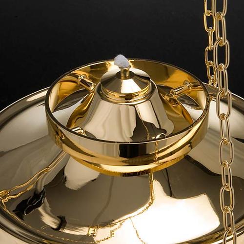 Lampe du Sanctuaire suspendue chaînes 1 mt 6