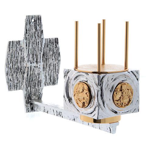 Lámpara para el Santísimo de pared latón fundido 1