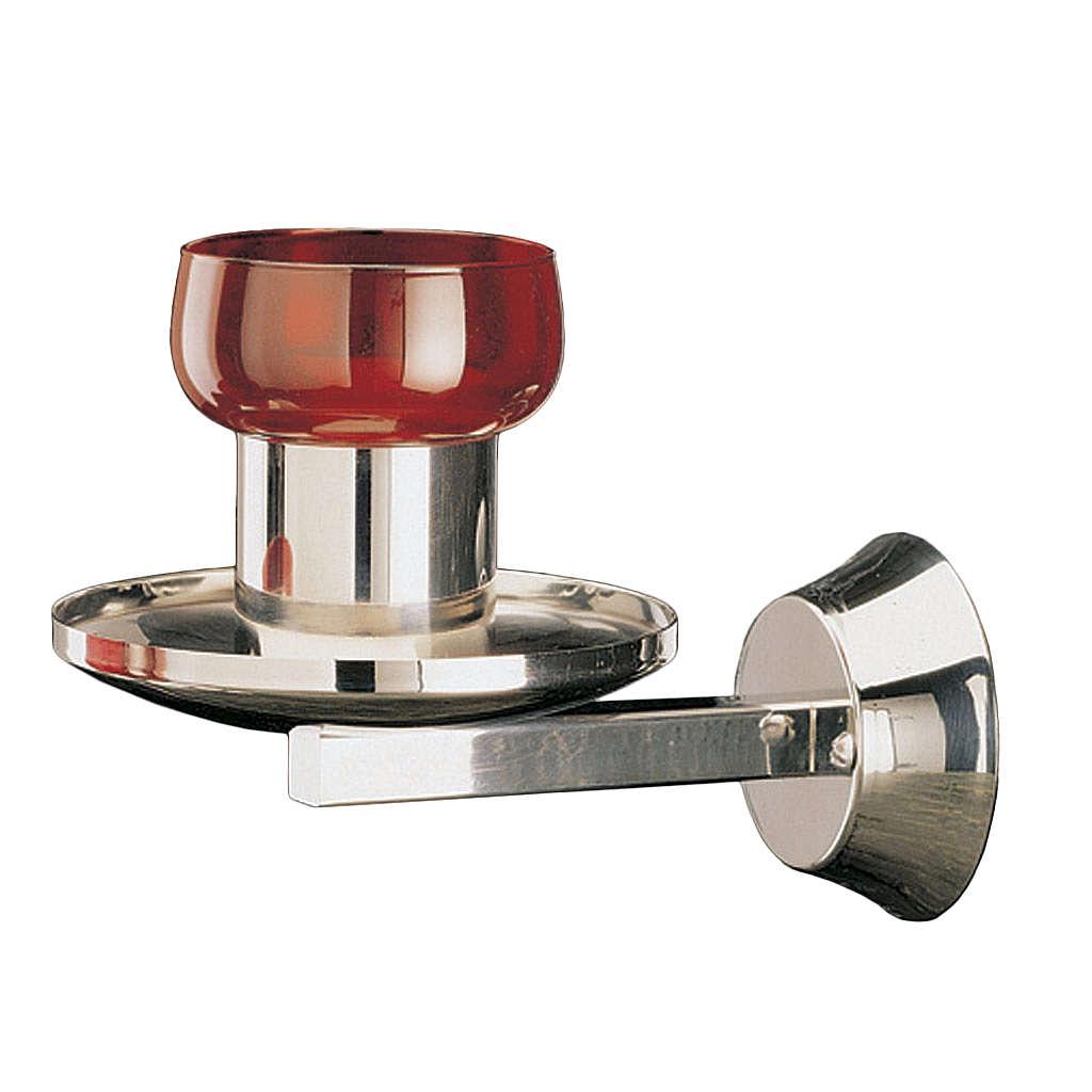 Lampada Santissimo Molina applique acciaio inox 3