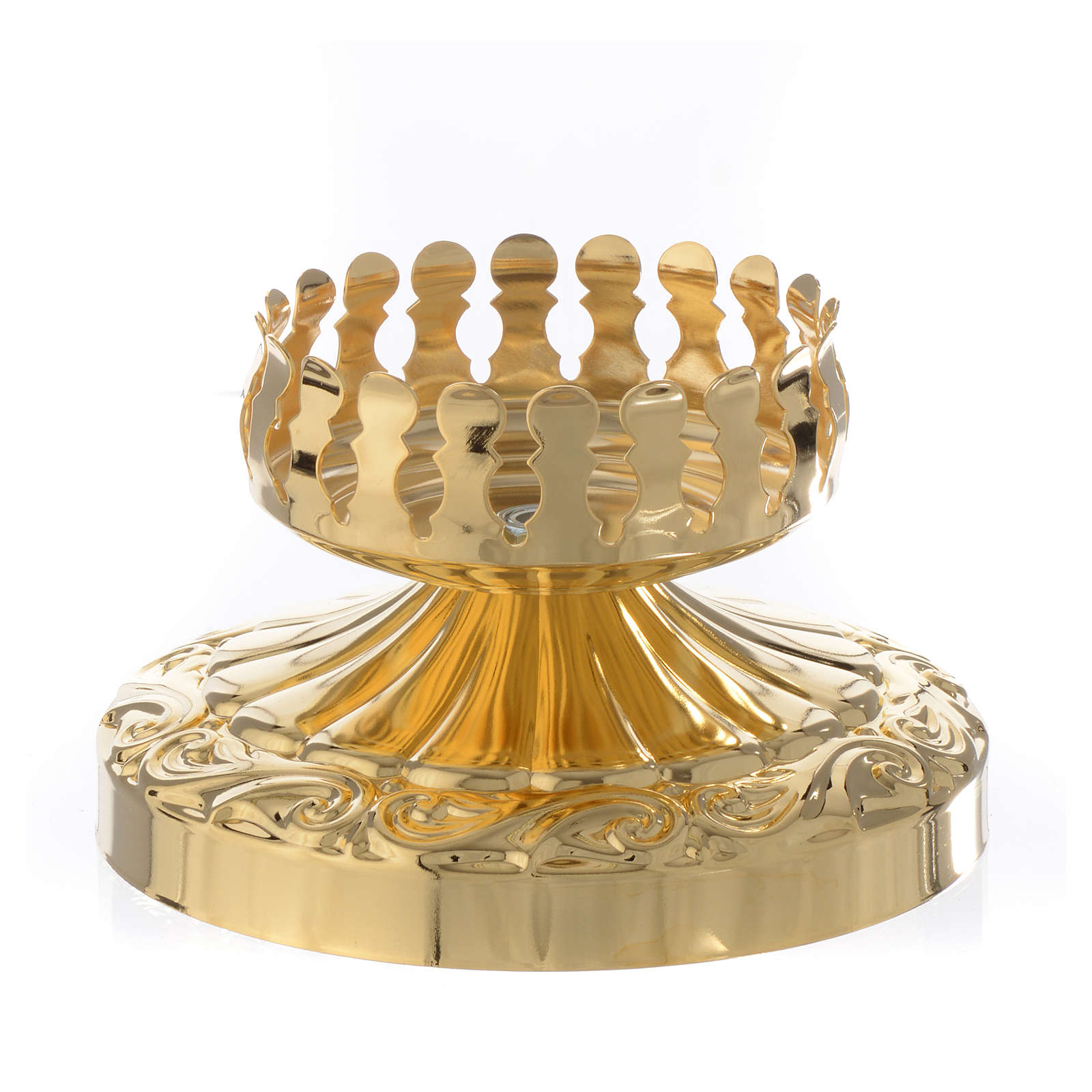 Lampada Santissimo per vetro stile impero 3