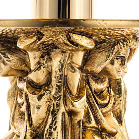 Blessed Sacrament lamp or altar lamp in cast brass s3