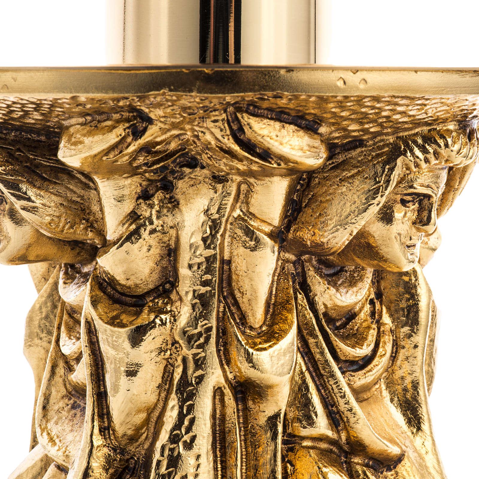Lámpara de mesa o Santísimo latón fundido 3