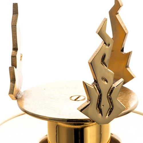 Lámpara de mesa o Santísimo latón fundido 4