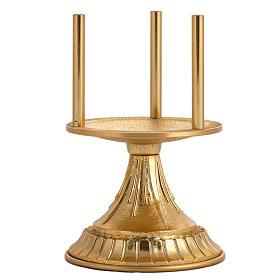Lampada per Santissimo Sacramento in ottone dorato s3