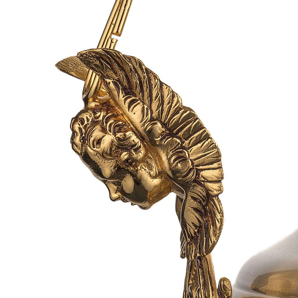 Lámpara Santísimo latón satinado cabeza ang 3