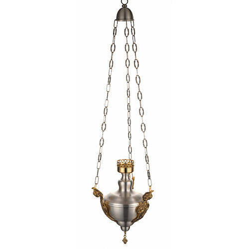 Lámpara Santísimo latón satinado cabeza ang 1