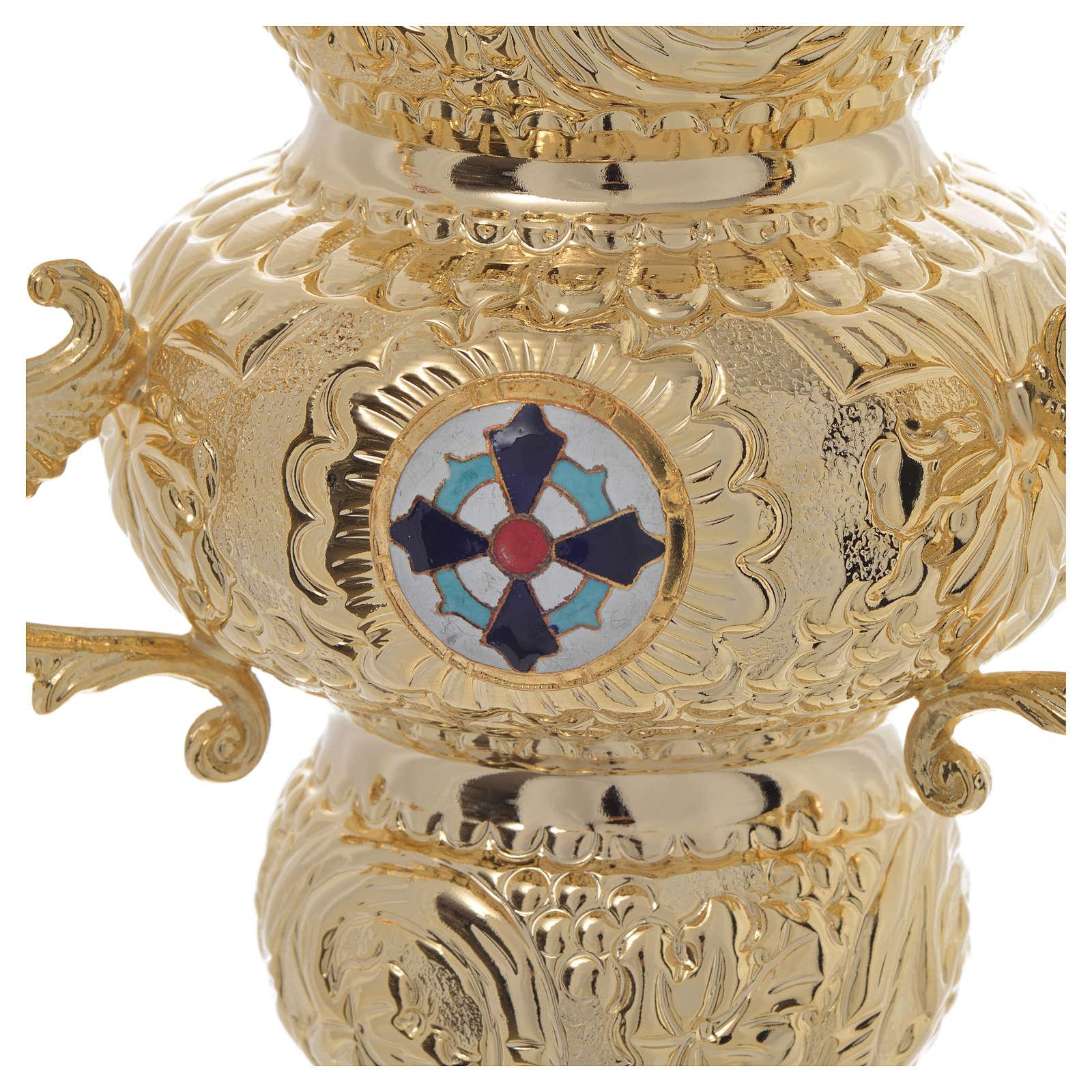 Lámpara para el Santísimo Ortodoxa 19 x 9 cm 3