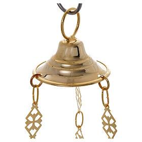 Lámpara para el Santísimo Ortodoxa 19 x 9 cm s7