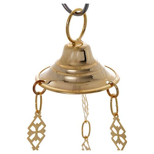 Lámpara para el Santísimo Ortodoxa 19 x 9 cm 7