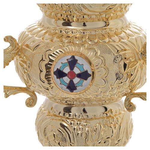 Lampe de Très-Saint-Sacrement orthodoxe 19x9 cm 4