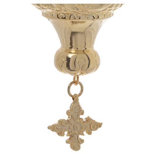 Lampe de Très-Saint-Sacrement orthodoxe 19x9 cm 5