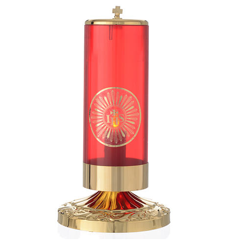Lampada Santissimo stile impero elettrica 1