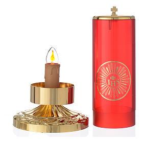 Wieczna lampka elektryczna styl imperialny s3