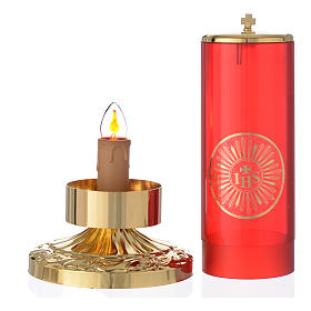 Electric lamp for the Blessed Sacrament, empire style s3