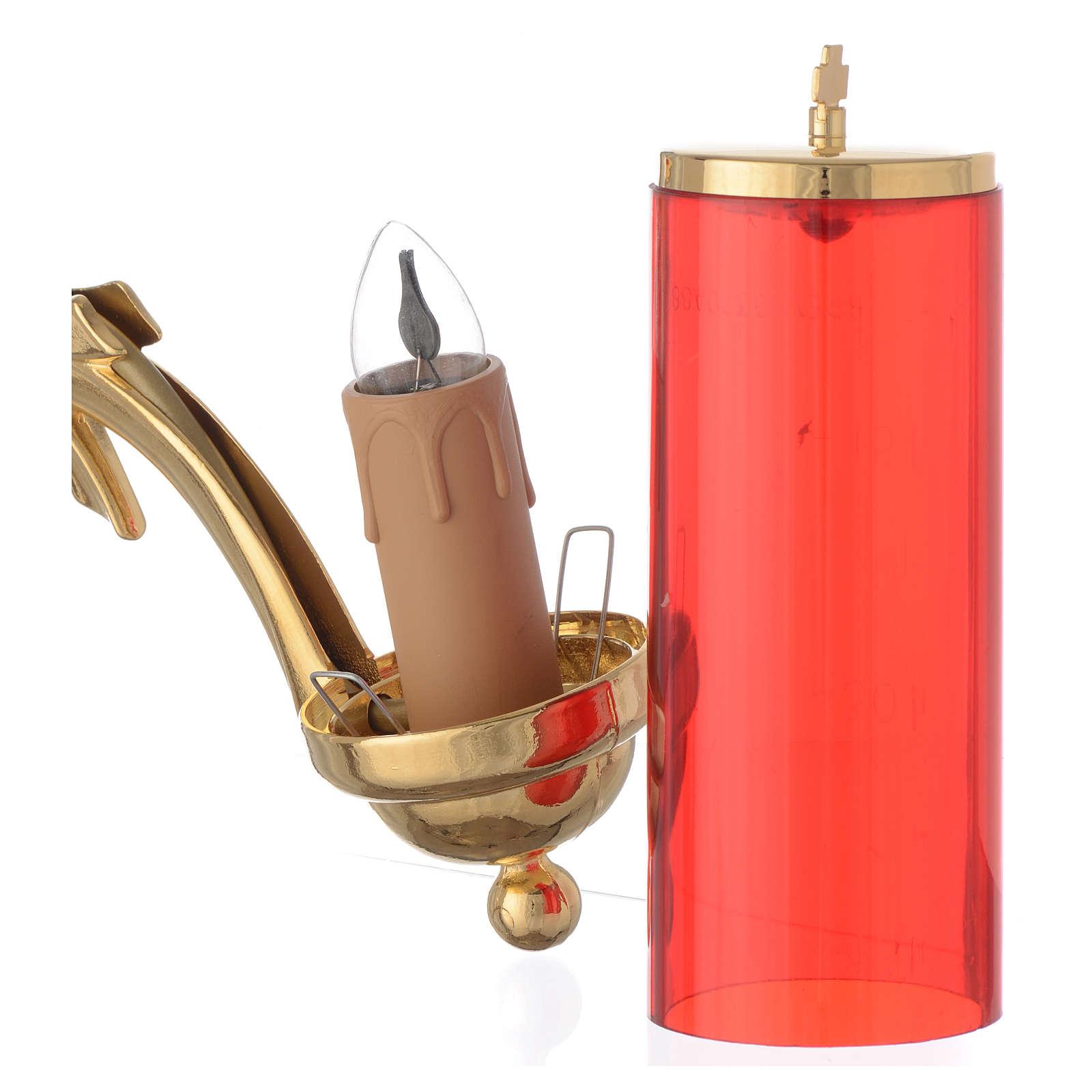 Lampka ścienna elektryczna do tabernakulum 3