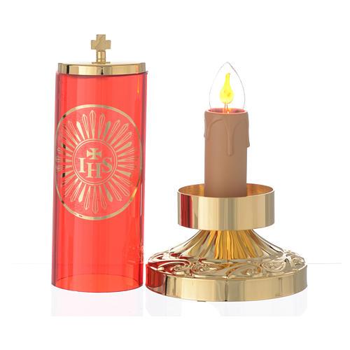 Lampada per Santissimo stile impero elettrica 2
