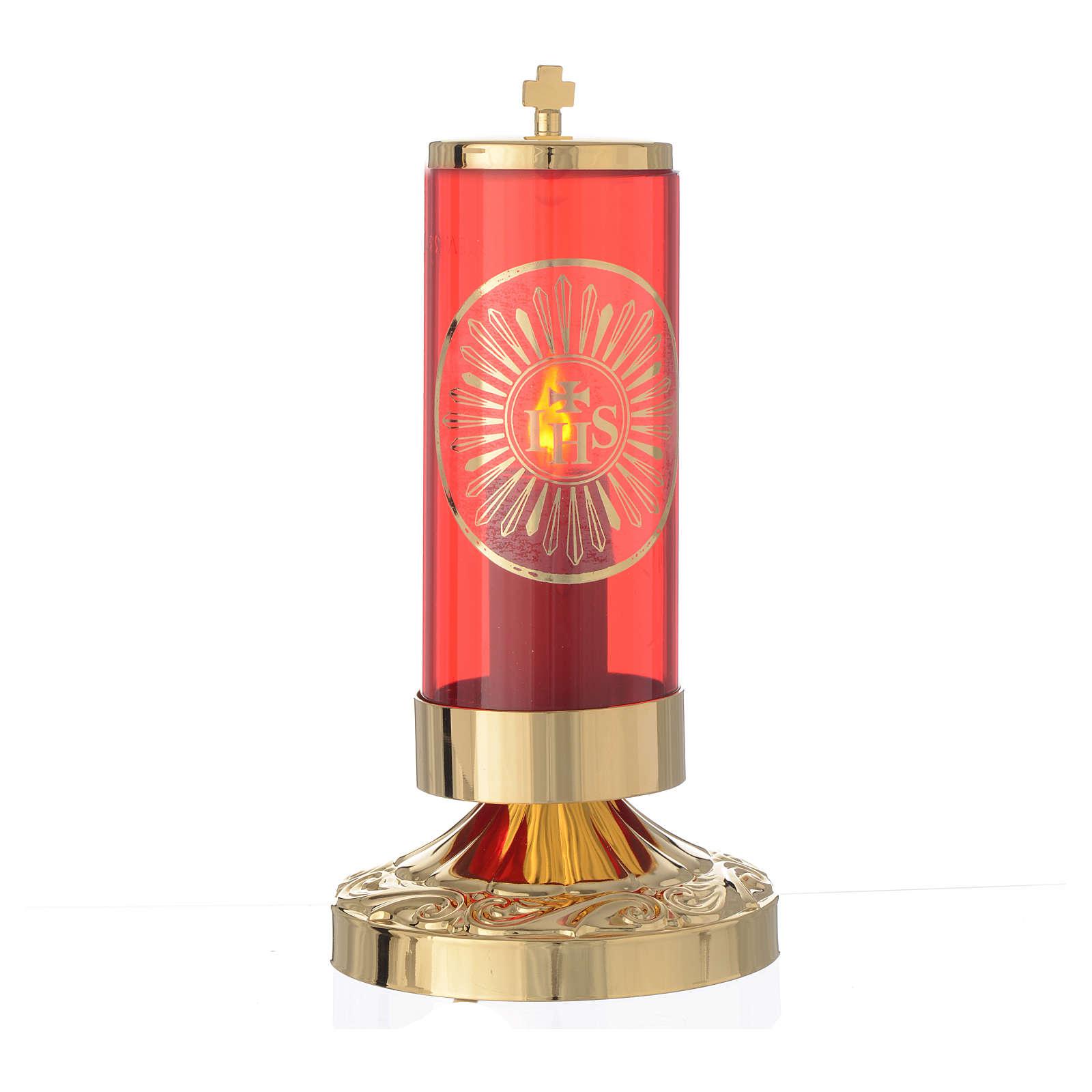 Wieczna lampka elektryczna w stylu imperialnym 3