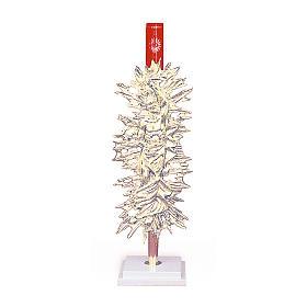 Lámpara de pie Santísimo Cristo resucitado latón dorado s1