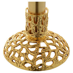 Blessed Sacrament Lamp in gold plated brass s3