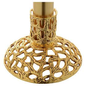 Lámpara para el Santísimo 110 cm latón dorado s3