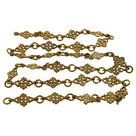 Brass chain 1 m for pendant lamp s1