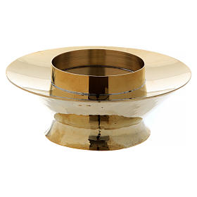Tabernacle lamp in brass and glass Vitrum model s2