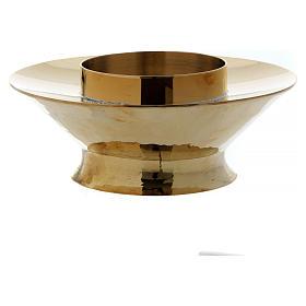 Lampka eucharystyczna do Najświętszego Sakramentu model Vitrum mosiądz szkło s3