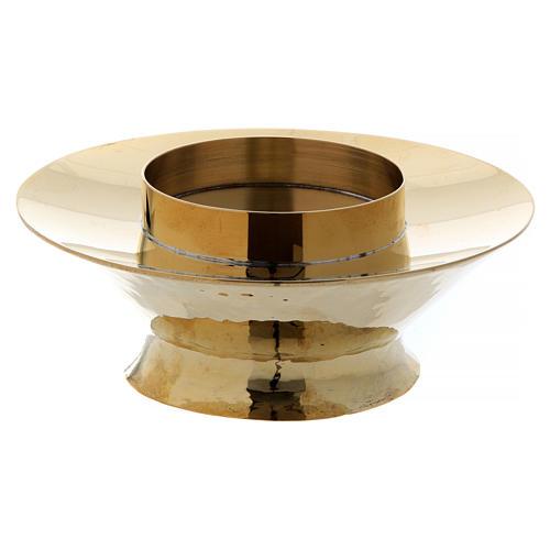 Lampka eucharystyczna do Najświętszego Sakramentu model Vitrum mosiądz szkło 2