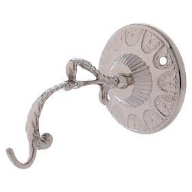 Braccio lampada per Santissimo ottone argentato s2