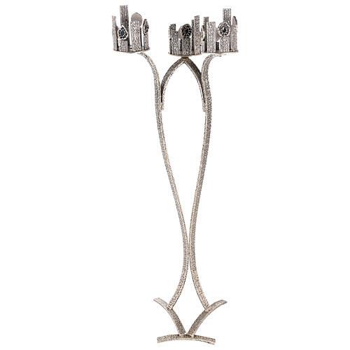 Suporte para três lâmpadas Santíssimo Sacramento, altura 110 cm 7