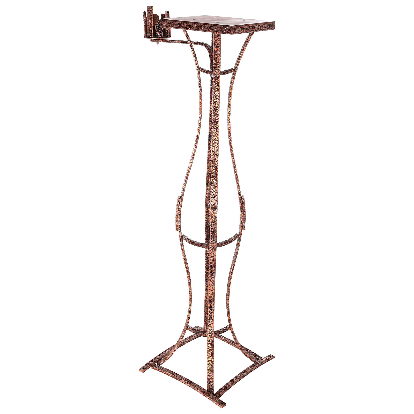 Tabernacle stand with candlestick h 55 in 4