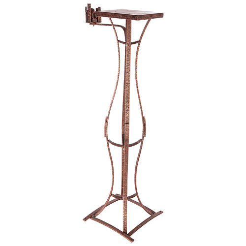 Tabernacle stand with candlestick h 55 in 3
