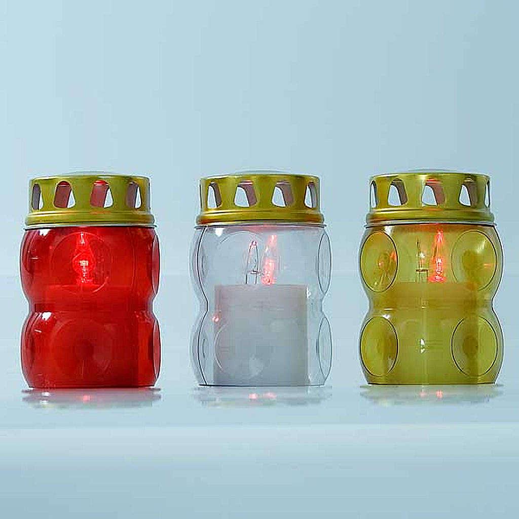 THROWAWAY LED votive candle, 100 days 3