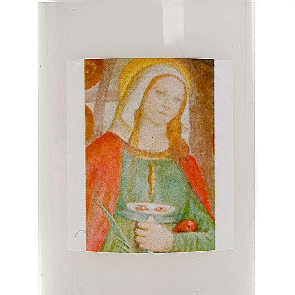 Lumino immagine Santa Lucia 3