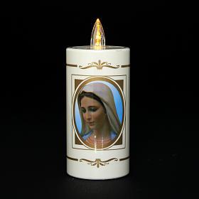 Veilleuse usage unique Notre-Dame de Medjugorje 50jrs s2