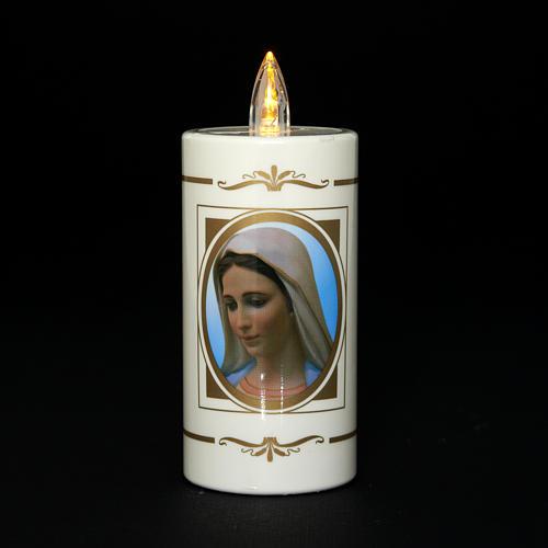 Veilleuse usage unique Notre-Dame de Medjugorje 50jrs 2